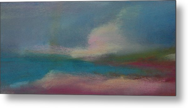 Dunes On The Horizon Metal Print