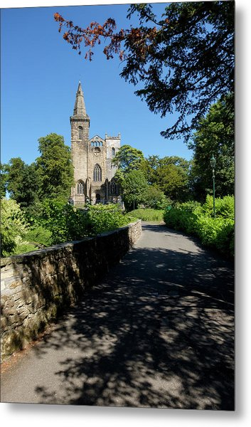 Metal Print featuring the photograph Dunfermline Abbey by Jeremy Lavender Photography