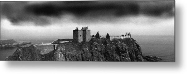 Dunnottar Castle Scotland Metal Print by Donald Buchanan