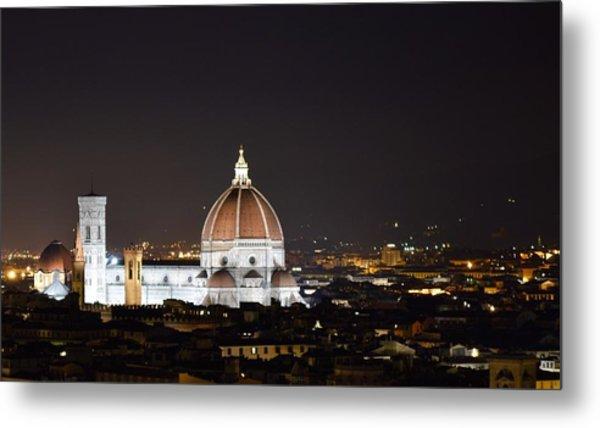 Duomo Illuminated Metal Print