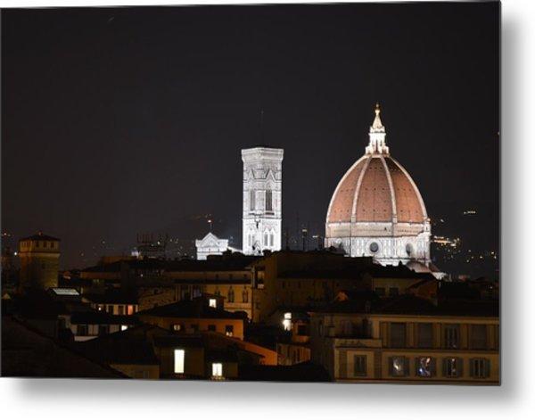 Duomo Up Close Metal Print