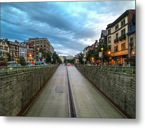 Dupont Circle Metal Print