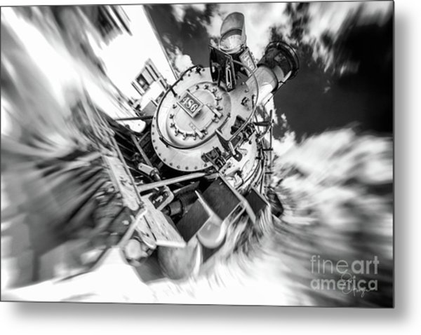 Durango Silverton Train Arrives Metal Print