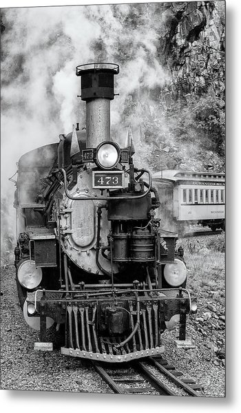 Durango Silverton Train Engine Metal Print
