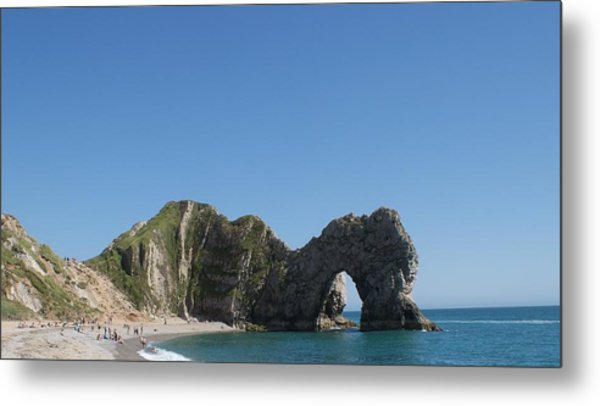 Durdle Door Photo 6 Metal Print