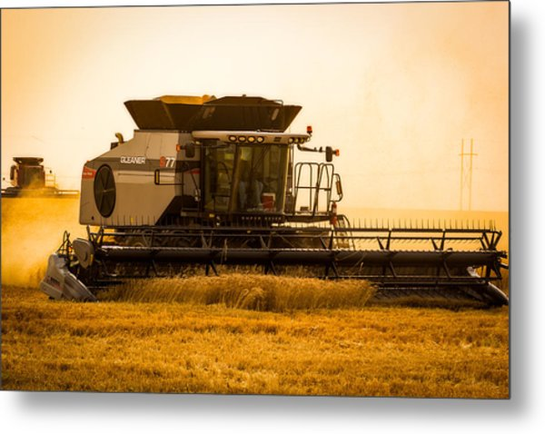 Dusty Harvest Metal Print