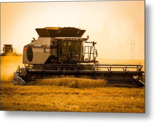 Dusty Harvest Metal Print