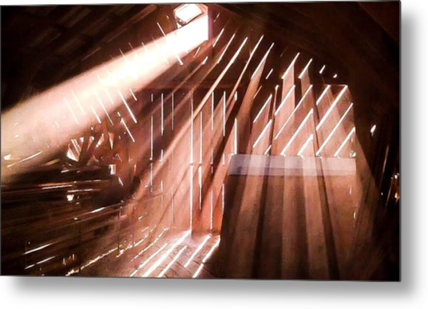 Dusty Rays Metal Print