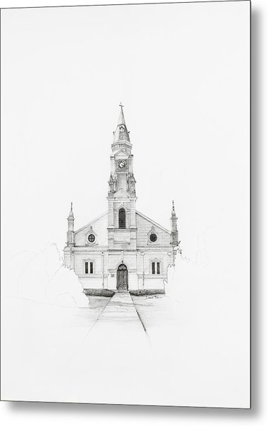 Dutch Reformed Church Pearston Metal Print
