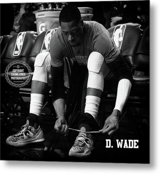 Dwayne Wade Metal Print