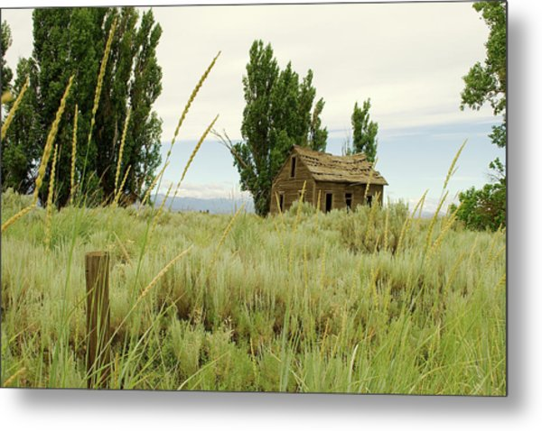 Dyer Country Home Metal Print