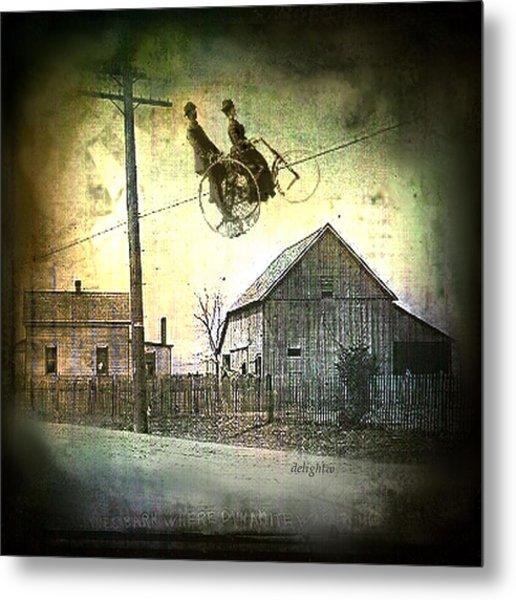 Dynamite Barn Metal Print