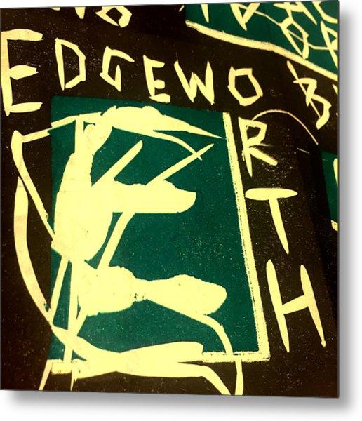 E Cd Cover Art Metal Print