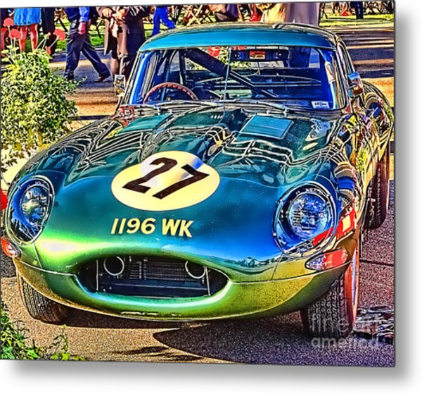 E-type - Colour I Metal Print