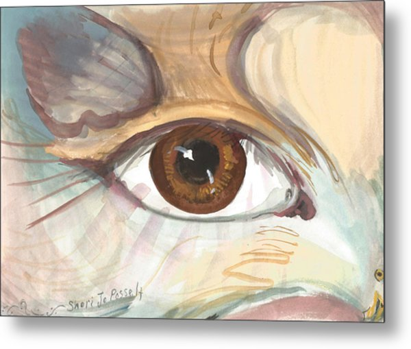 Eagle Eye Metal Print