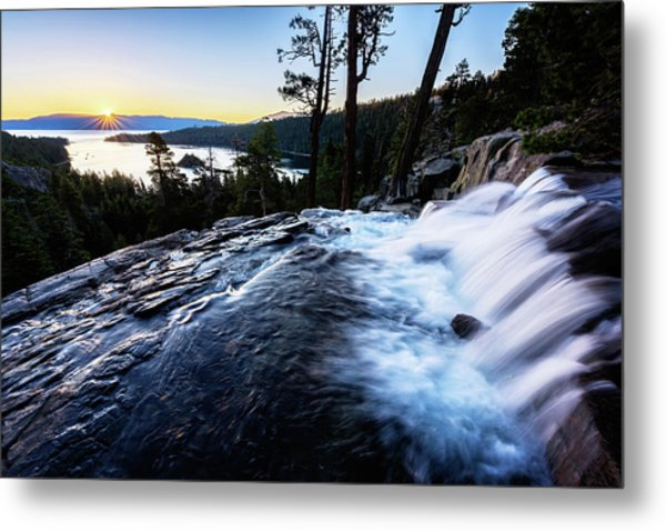 Eagle Falls At Emerald Bay Metal Print