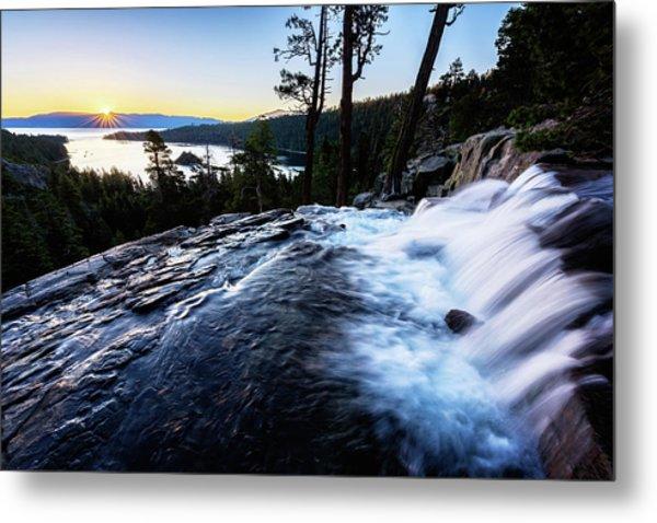 Eagle Falls At Emerald Bay Metal Print