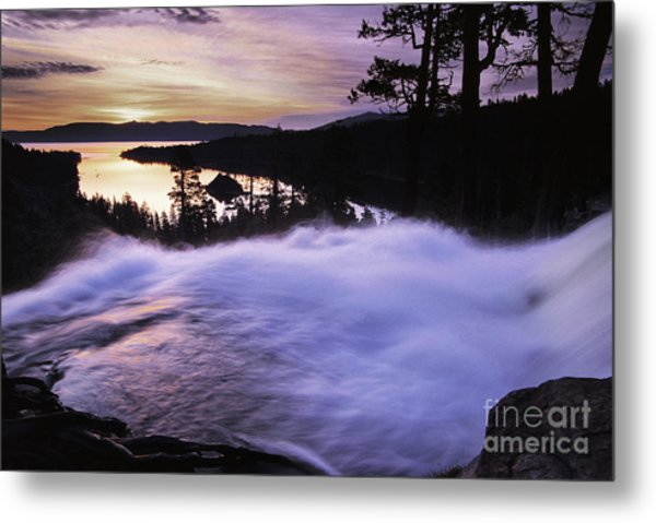 Eagle Falls Morning Metal Print by Buck Forester