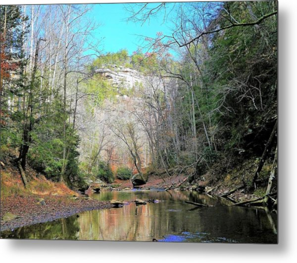 Eagle Point Buttress Metal Print