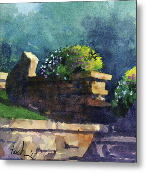 Eagle Point Planter Metal Print