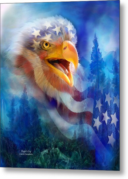 Eagle's Cry Metal Print