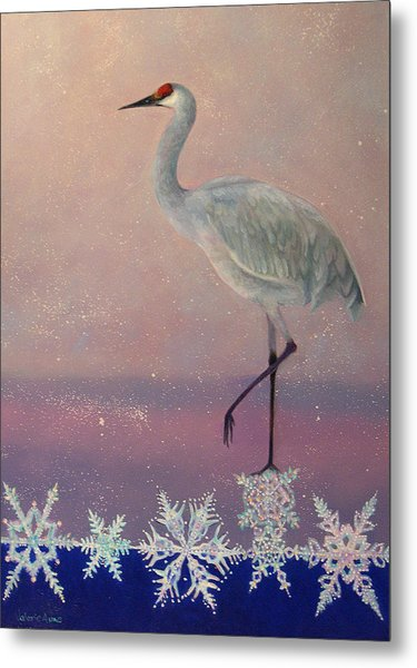 Early Arrival Metal Print by Valerie Aune