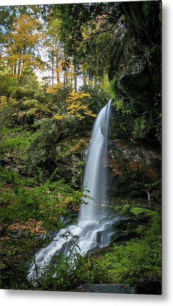 Early Autumn At Dry Falls Metal Print