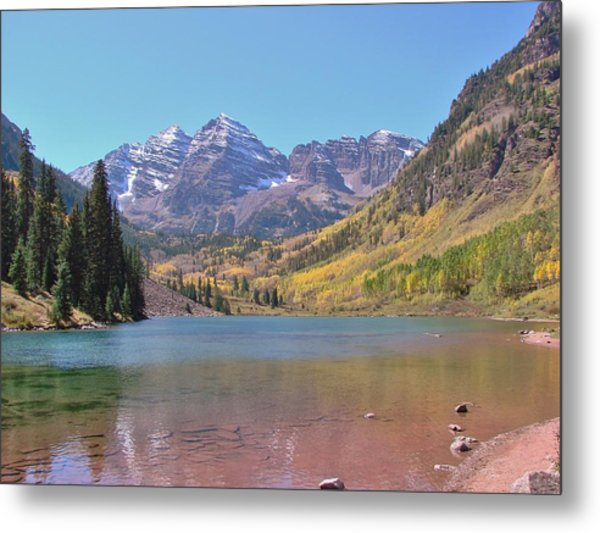 Early Autumn At The Bells Metal Print