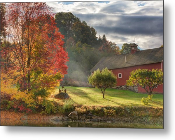 Early Autumn Morning Metal Print