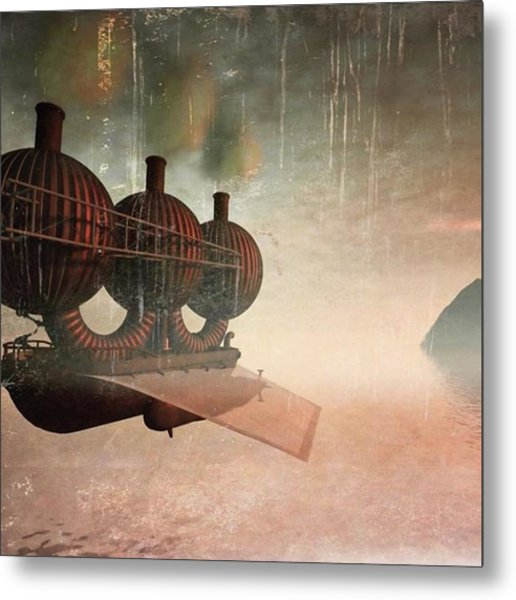 Early Departure - A Piece Of Work From Metal Print