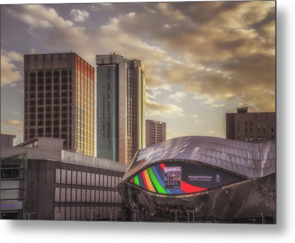 Early Evening At Grand Central Metal Print