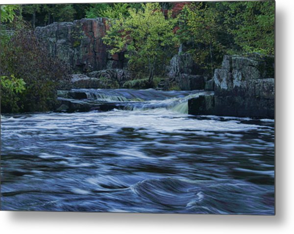 Early Fall At Eau Claire Dells Park Metal Print