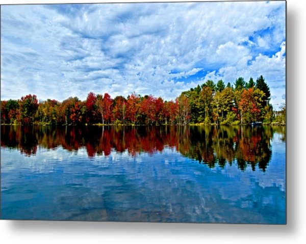 Early Fall Colors. New York Metal Print