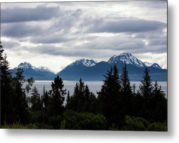 Early Morning Alaska Metal Print
