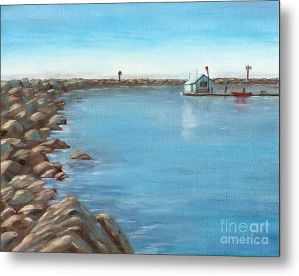 Early Morning At Dana Point Metal Print