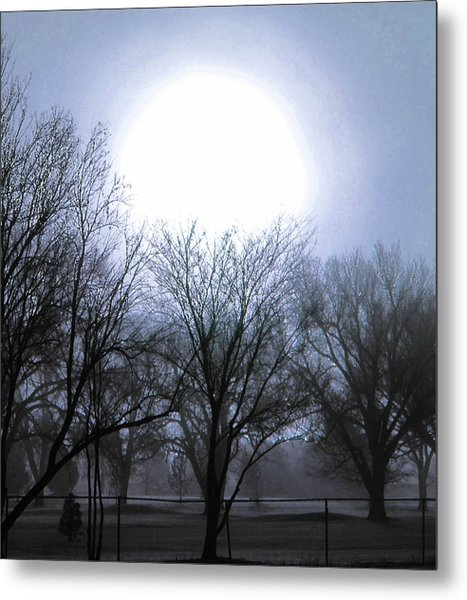 Early Morning At The Golf Course Metal Print