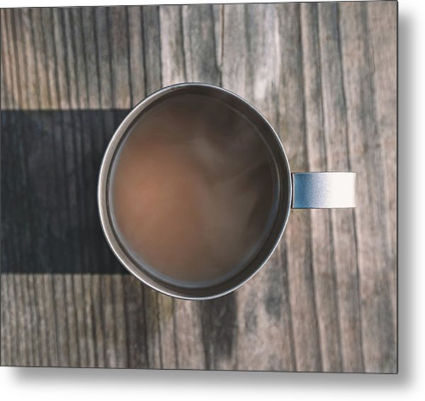 Early Morning Coffee  Metal Print