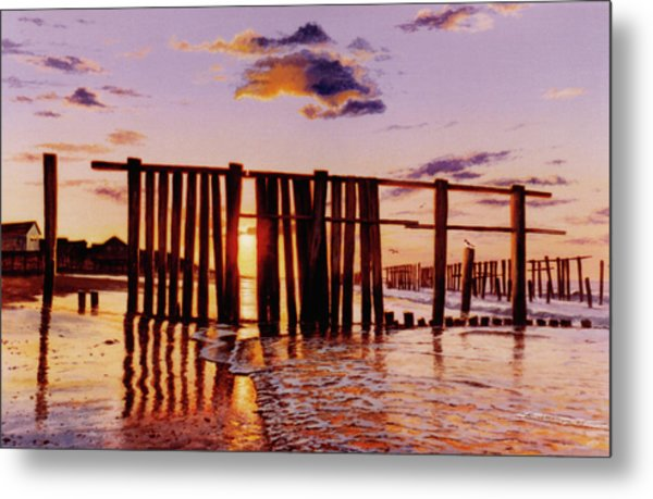 Early Morning Contrasts Metal Print