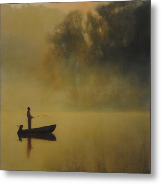Early Morning Fish Sold Metal Print