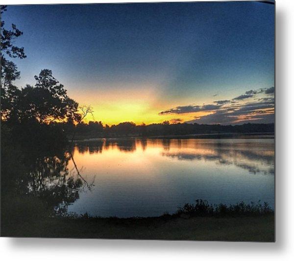 Early Morning Glow Metal Print