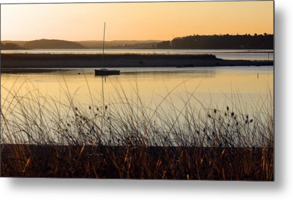 Early Morning Haze Metal Print