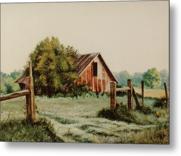 Early Morning In East Texas Metal Print