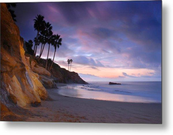 Early Morning In Laguna Beach Metal Print
