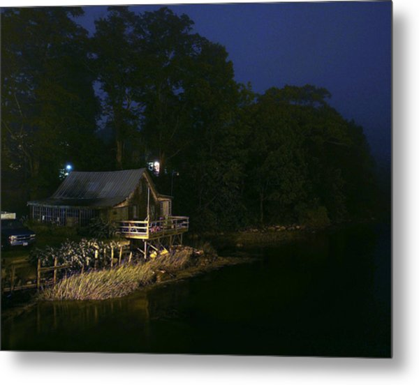 Early Morning On The River Metal Print