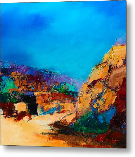 Early Morning Over The Canyon Metal Print