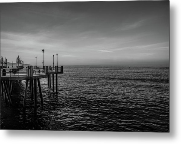 Early Morning Redondo By Mike-hope Metal Print