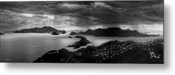 Early Morning Squalls Metal Print