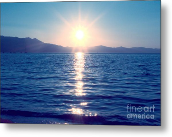 Early Sunset Metal Print