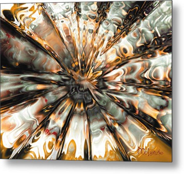 Earth Impact Metal Print by Artist   McKenzie