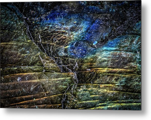 Metal Print featuring the photograph Earth Portrait 01-18 by David Waldrop